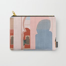 traveling via illustration Carry-All Pouch