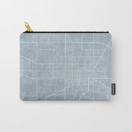 Gainesville Map, USA - Slate Carry-All Pouch