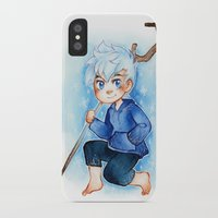 jack frost iPhone & iPod Cases featuring Jack Frost by cynamon