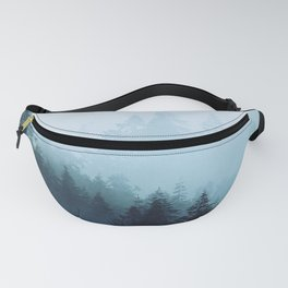 Welsh Trees In The Mists Fanny Pack