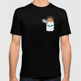 Pocket paladin lance T-shirt