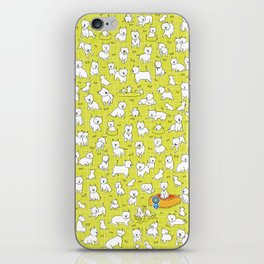 A Waggle of Westies iPhone Skin