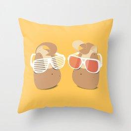 Cool Potatoes Throw Pillow