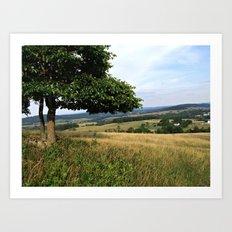Virginia Countryside and Farmlands Art Print