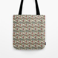 internet Tote Bags featuring Internet Wallpaper by Matt Hunsberger