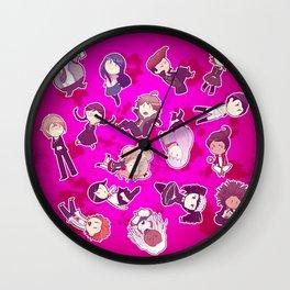 Dangan Ronpa Wall Clock