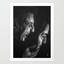 Pirandello's Mask Art Print