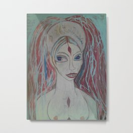 Painted Lilith 2 Metal Print