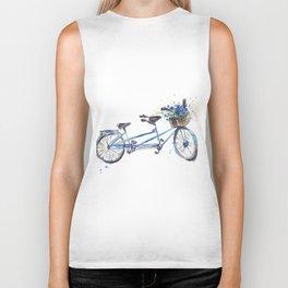 Tandem bicycle Biker Tank