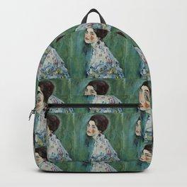 """Gustav Klimt """"Portrait of a lady"""" Rucksack"""