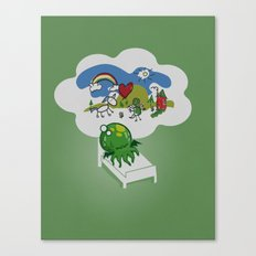 Unspeakable Nightmare Canvas Print
