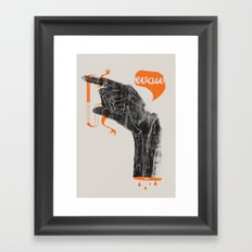 The Fallacy of Affirming the Consequent Framed Art Print