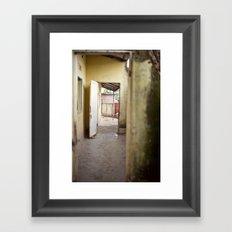 enter::rwanda Framed Art Print