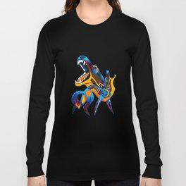 Oaxacan Coyote Long Sleeve T-shirt