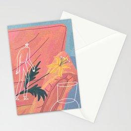flower saver Stationery Cards