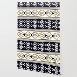 Aztec Ethnic Pattern Art N10 Wallpaper