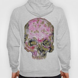 Skull In Pink & Gold Hoody