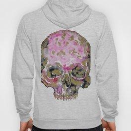 Skull In Pink & Gold Hoody