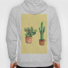 Cactus on Yellow Hoody