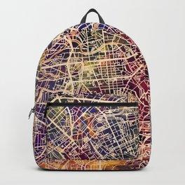 Berlin Germany City Map Backpack