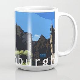 Edinburgh Castle in Digital Coffee Mug