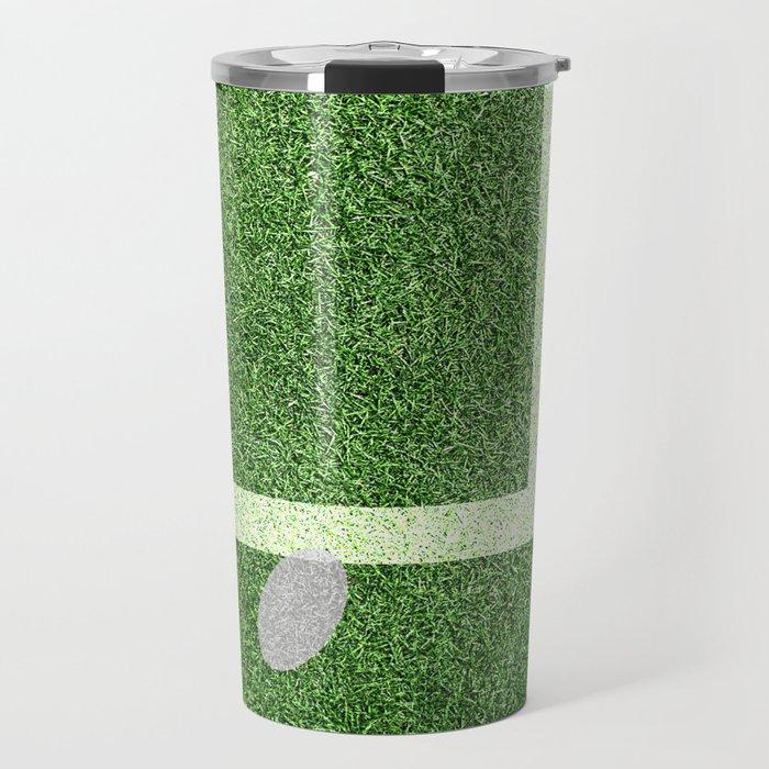 """""""IN"""" – Hawk-Eye - green Travel Mug"""