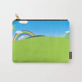 Happy Colorful Planet 03 Carry-All Pouch