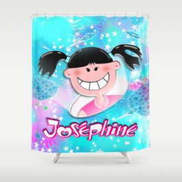 Josephine Texture Shower Curtain
