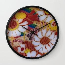 Hippy Style Wall Clock