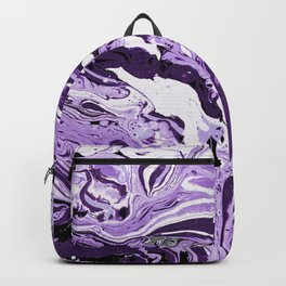 Abstract metal painting Backpack