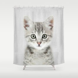Kitten - Colorful Shower Curtain