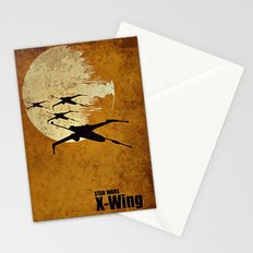 Moon fighter Stationery Cards