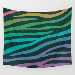 wildlife dreamcoat - zebra 2 Wall Tapestry