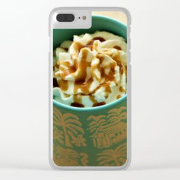 Latte Clear iPhone Case