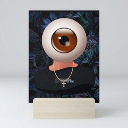 All-Seeing Head Mini Art Print