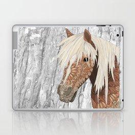 Haflinger Horse Laptop & iPad Skin