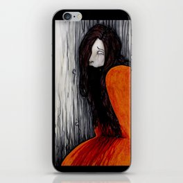 Kuchisake-onna iPhone Skin