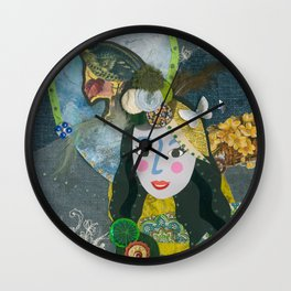 Paper Dollies - Freya Wall Clock
