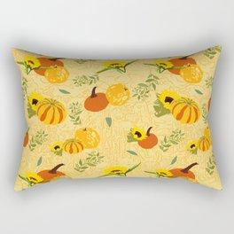 Pumpkins harvest pattern 2 Rectangular Pillow