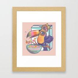 Musical cereal  Framed Art Print