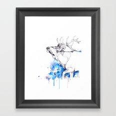 Elk's Whisper II Framed Art Print