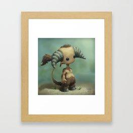 Faun Boy Framed Art Print