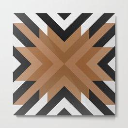 Geometric Art with Bands 11 Metal Print