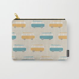 VW Bus & Surfboard (Ver. 2) Carry-All Pouch