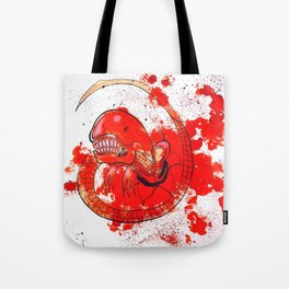 Alien chestbursting Tote Bag