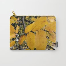 Yellow Leaves of Autumn Carry-All Pouch