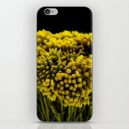 curry flower iPhone Skin