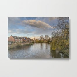 The River Severn Metal Print