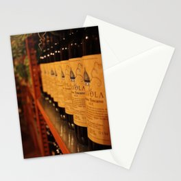 Tuscan Wine Collection - Vino Rosso Stationery Cards