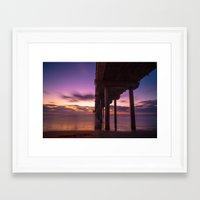 tie dye Framed Art Prints featuring Tie Dye by creatvnfluences